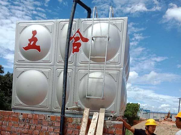 广西不锈钢生活水箱